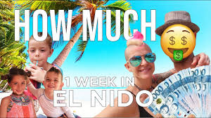el nido philippines how much does 1