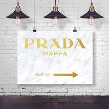 Stella Loves Where To Get That Prada Marfa Wall Art Stella The Stars