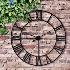 80cm large outdoor garden wall clock