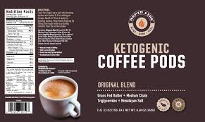 rapid fire ketogenic coffee original