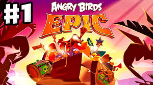 Angry Birds Epic - Gameplay Walkthrough Part 1 - Red and Chuck at ...