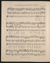 Image 2 of Let us sing of the sweet bye and bye | Library of Congress
