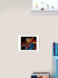 Dr Doctor Strange Art Print By Jkotlan Redbubble