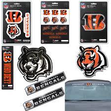Nfl Cincinnati Bengals Premium Vinyl Decal Sticker Emblem Pick Your Pack Ebay