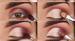 natural eye makeup tutorial brown eyes