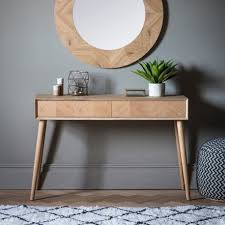 furniture console table solid teak side