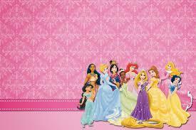 Disney Princess Free Printable Party Invitations Invitaciones