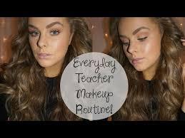 everyday makeup routine teacher