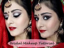 indian stani bridal makeup look