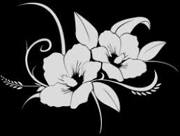 Hawaiian Flower Frosted Vinyl Window Decals Dezign With A Z