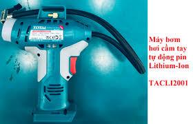 20V Máy bơm hơi tự động dùng pin Total TACLI2001 KHÔNG KÈM THEO PIN VÀ CỤC  SẠC - TACLI2001