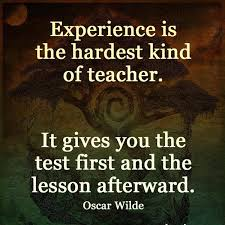 oscar wilde experience quote image experience is the hardest
