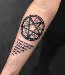 Tatuaz Pentagram 100 Najlepszych Zdjec Prac Szkicow Wartosci