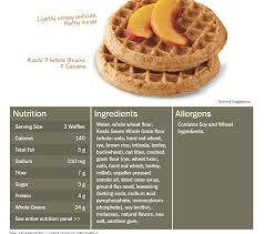 waffles myfitnesspal