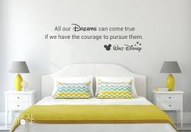 All Our Dreams Can Come True Walt Disney Wall Decal Vinyl Etsy