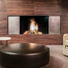 gas fireplace wood burning