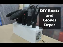 diy surfing boots and gloves dryer