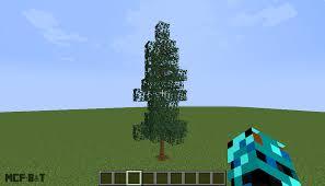 Custom Thin Spruce Tree Items Minecraft Furniture Builds Tips Facebook