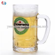 440ml thick bottom clear beer glass