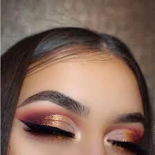 cut crease winter makeup looks 2018