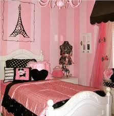 paris themed bedrooms ideas for teen