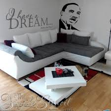 I Have A Dream Mlk Martin Luther King Jr Vinyl Wall Decal Sticker Stencil For Inspirational School Office Or Home Walls The Simple Stencil