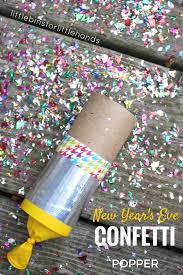 confetti poppers craft for new years