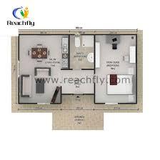 2 bedroom prefab house 50 square meters