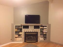 paint color for fireplace accent wall