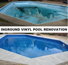 vinyl liner pool renovation