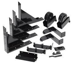 Pylex Sliding Gate Hardware Kit Black 11052 Rona
