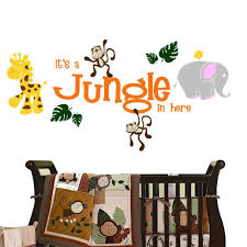 It S A Jungle In Here Animal Wall Decal Sticker Decal The Walls