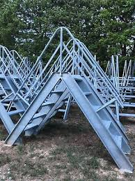 Fence Walkover Deer Stand Stairs Ladder Crossover Stairs Walk Over Ebay