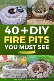 40 best diy fire pit ideas and designs