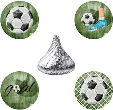 Amazon Com Magjuche Futbol Candy Pegatinas Futbol Boy Baby