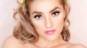 pretty in pink prom makeup tutorial