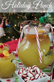 surprise punch and festive drinks