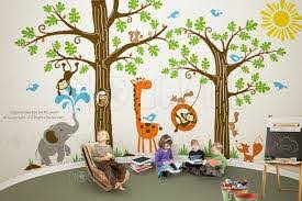 Vinyl Wall Decal Wall Sticker Kids Decal Wondrous Woodland Tree Decal 107 Children Wall Decal 260 00 Vi Boys Wall Decor Themed Kids Room Kids Wall Decor