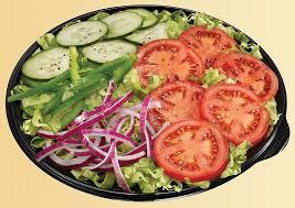 calories in subway veggie delight salad