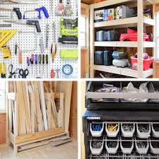 4 shed storage ideas for tons of added