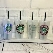 personalized 24 oz starbucks venti cups