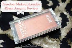 freedom makeup london blush angelic review
