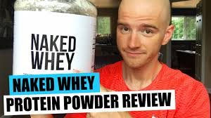 whey protein powder review by