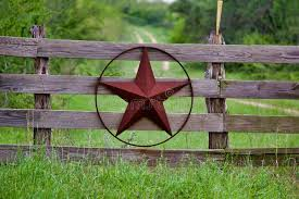 Texas Rustic Star On Countryside Side Wooden Fence With Road To The House Slowly Dissolving In The Background Stock Vector Illustration Of Gauge Antique 127428759