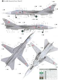 Sukhoi Su 24m Fencer Soviet Air Force Color Profile And Paint Guide