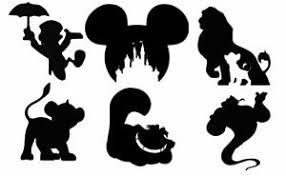 Disney Silhouette Vinyl Decals Sticker Water Bottle Phone Laptop Ebay