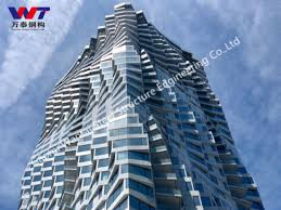china modern glass facades skyser