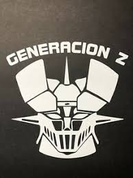 Mazinger Z Logo Vinyl Car Wall Decal Voltron Japan Gundam Tranzor White Matte Ebay