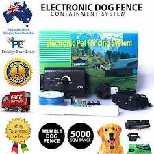 Electronic Dog Fence Containment System Safety Fencing Boundary Collar Wireless Ebay