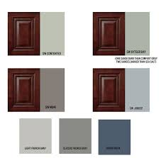 kitchen paint colors with cherry